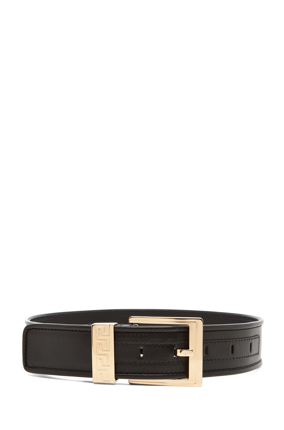 Image 3 of VERSACE Belt with Pouch in Black