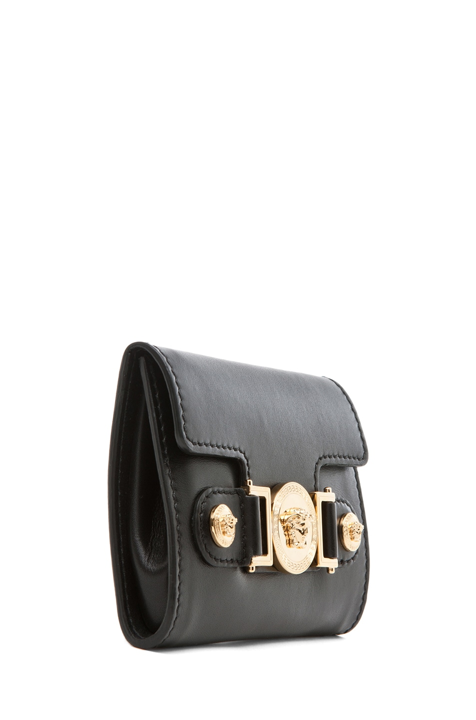 Image 7 of VERSACE Belt with Pouch in Black
