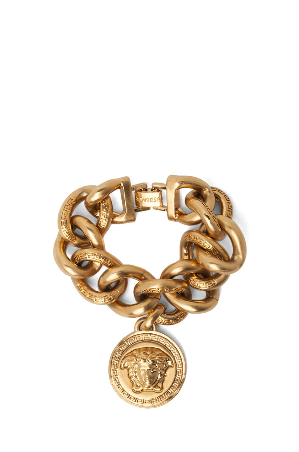 Image 1 of VERSACE Plated Chain Bracelet in Gold