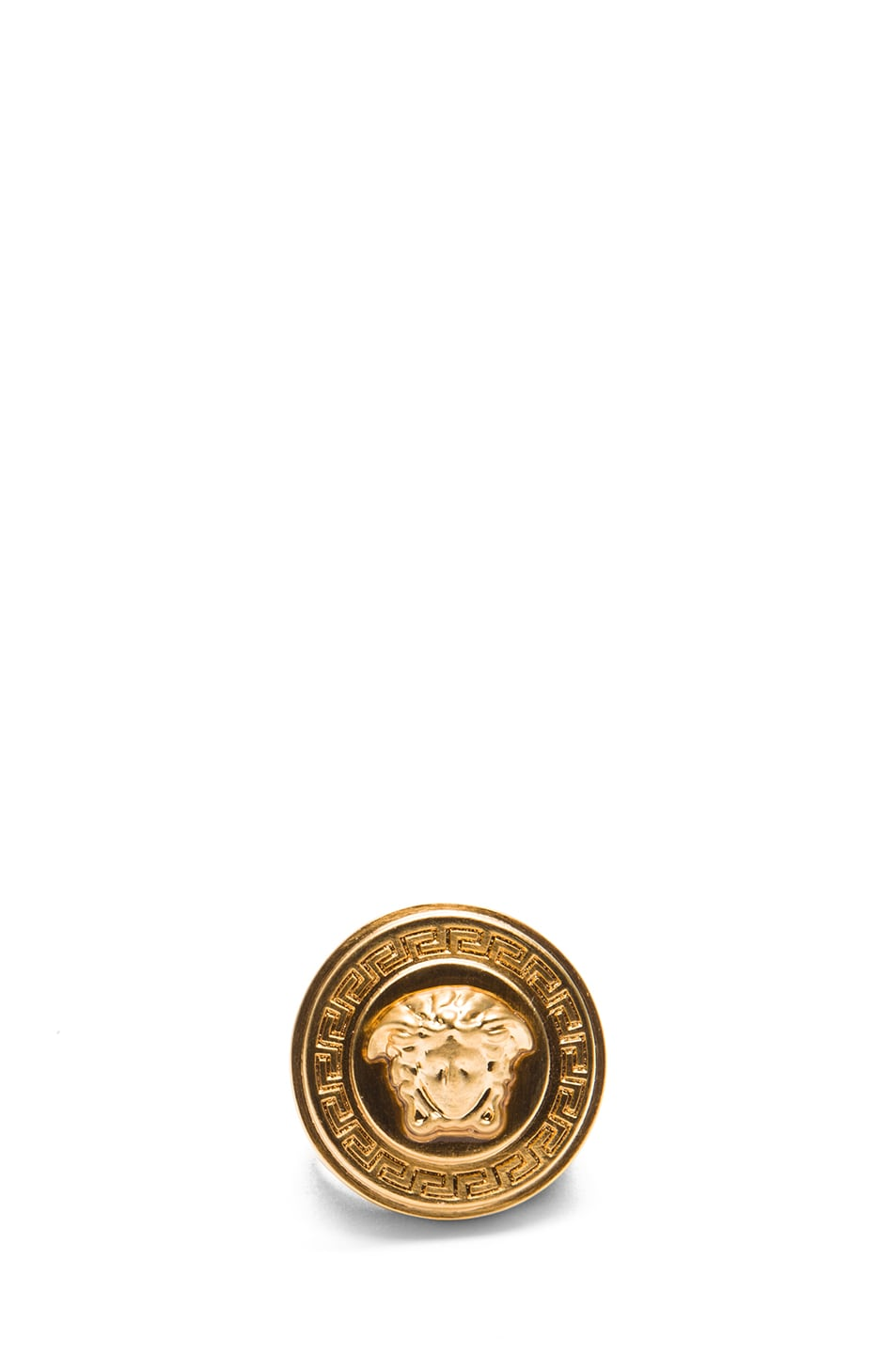 Image 1 of VERSACE Plated Ring in Gold