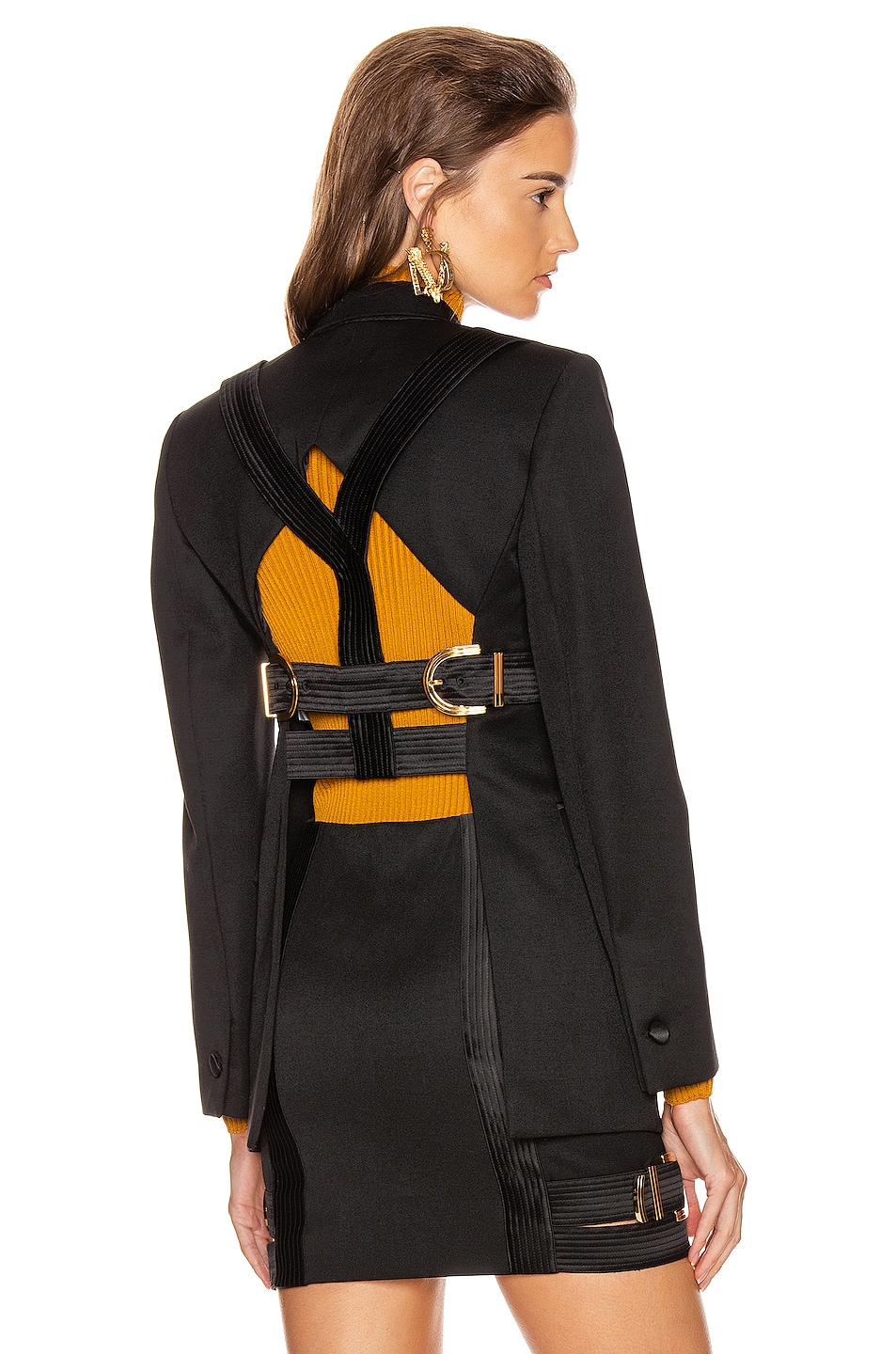 Image 1 of VERSACE Tailored Jacket in Black