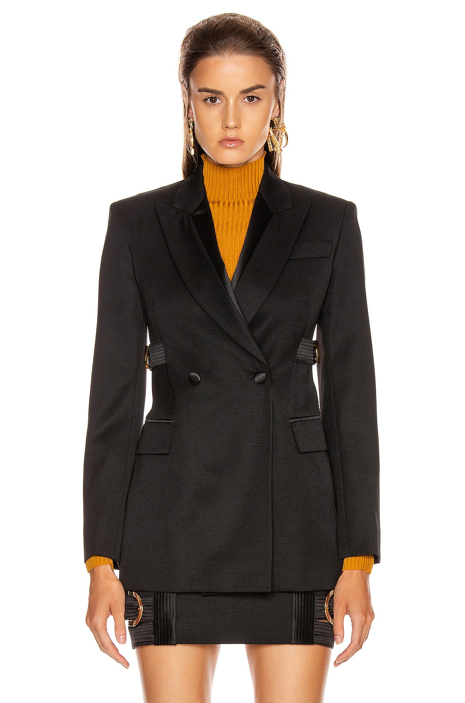 Image 3 of VERSACE Tailored Jacket in Black