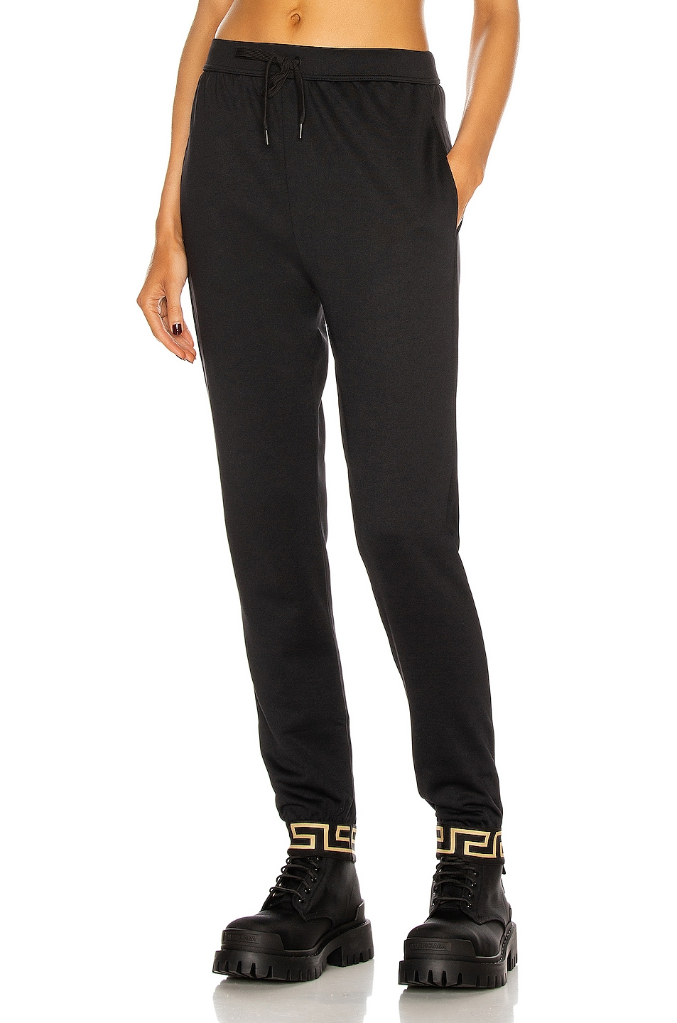 Image 1 of VERSACE Skinny Pant in Black