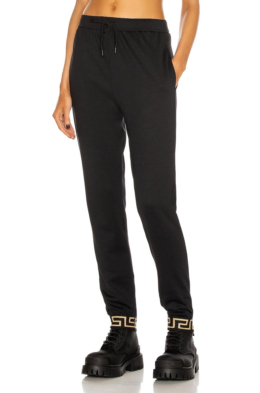 Image 1 of VERSACE Skinny Pant in Black