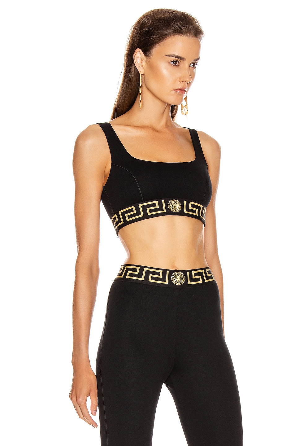 Image 2 of VERSACE Bra Top in Black