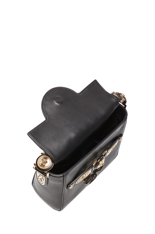 Image 4 of VERSACE Small Satchel in Black