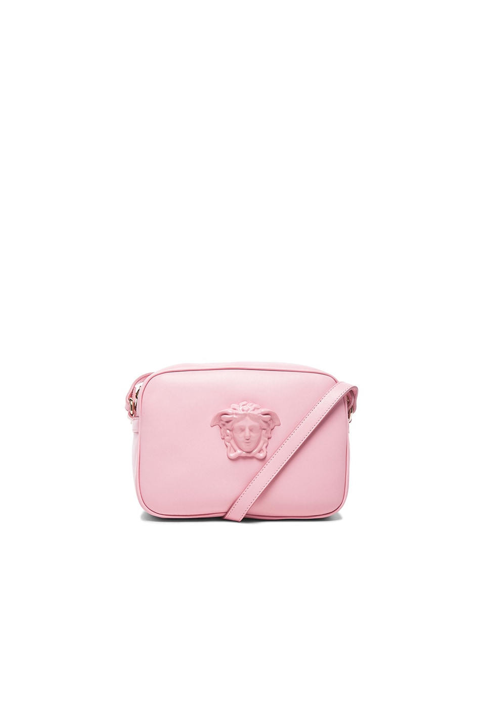 Image 1 of VERSACE Leather Medusa Bag in Pink