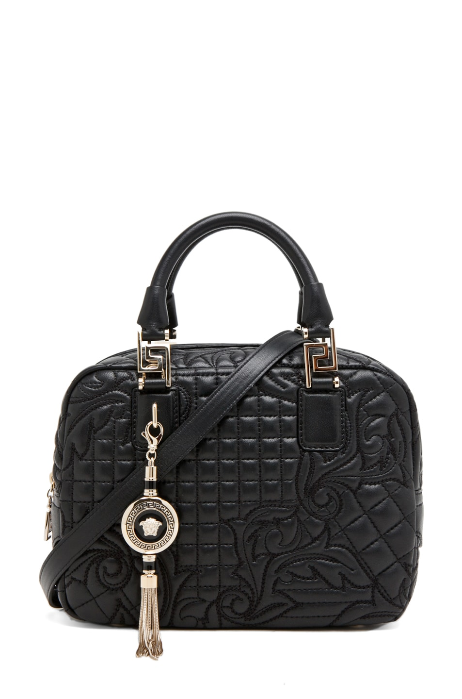 Image 1 of VERSACE Satchel in Black