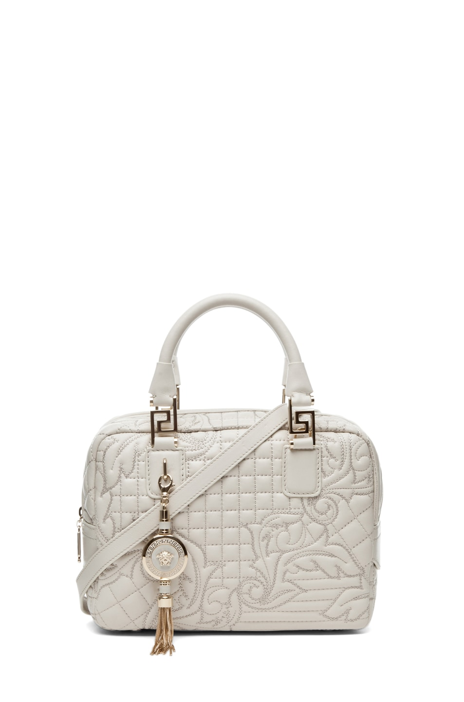 Image 1 of VERSACE Mini Piccolo in Chalk