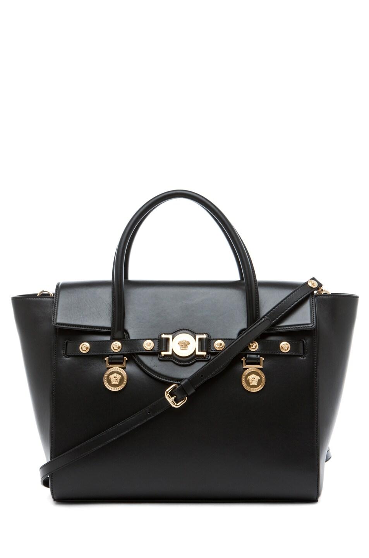 Image 1 of VERSACE Lienea Signature Piccolo Bag in Black
