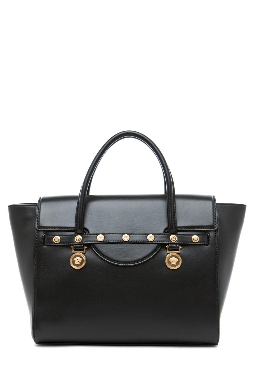 Image 2 of VERSACE Lienea Signature Piccolo Bag in Black