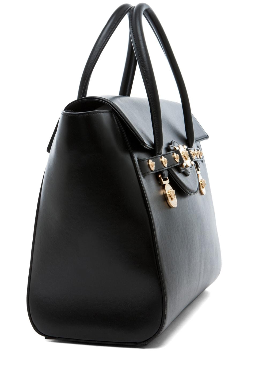 Image 3 of VERSACE Lienea Signature Piccolo Bag in Black