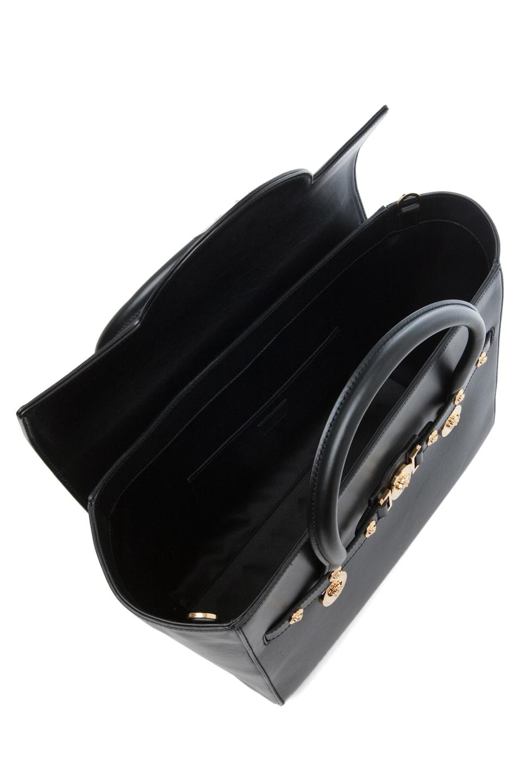 Image 4 of VERSACE Lienea Signature Piccolo Bag in Black