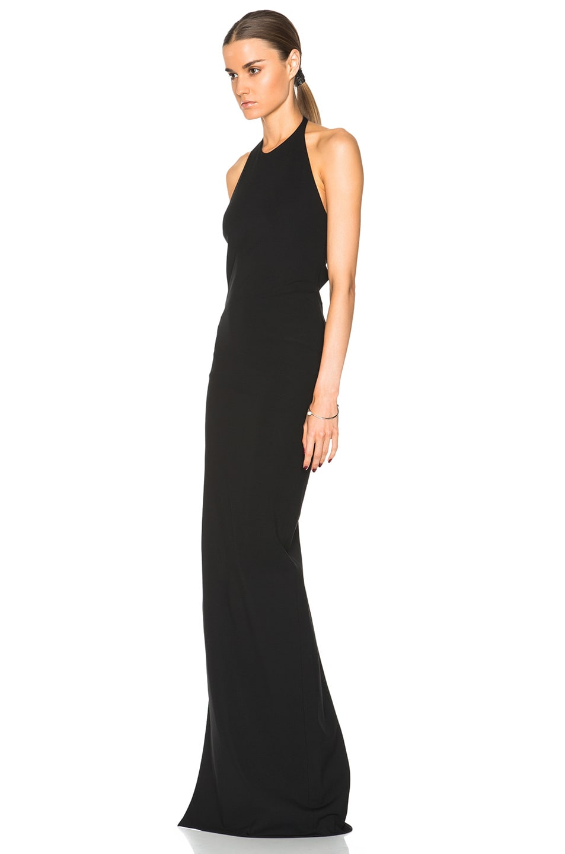 Versus Halter Gown in Black   FWRD