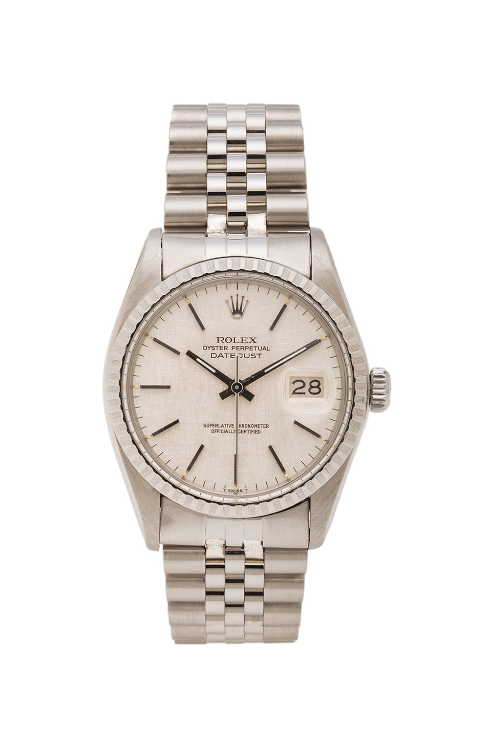 Image 1 of Vintage Rolex Stainless Datejust on Jubilee Band in Silver