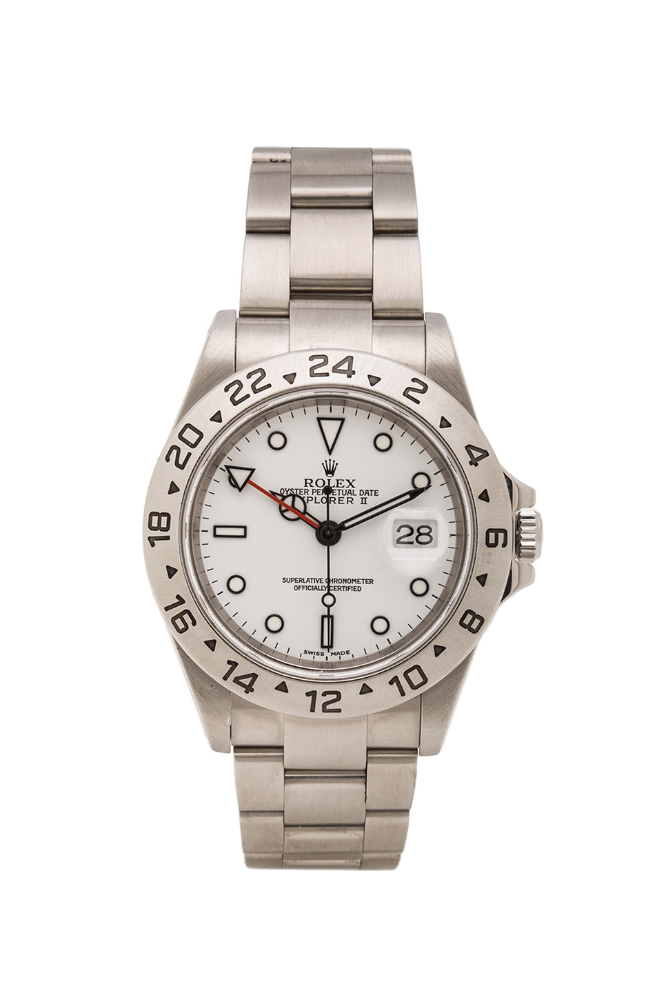 Image 1 of Vintage Rolex Stainless Explorer White Dial in Silver