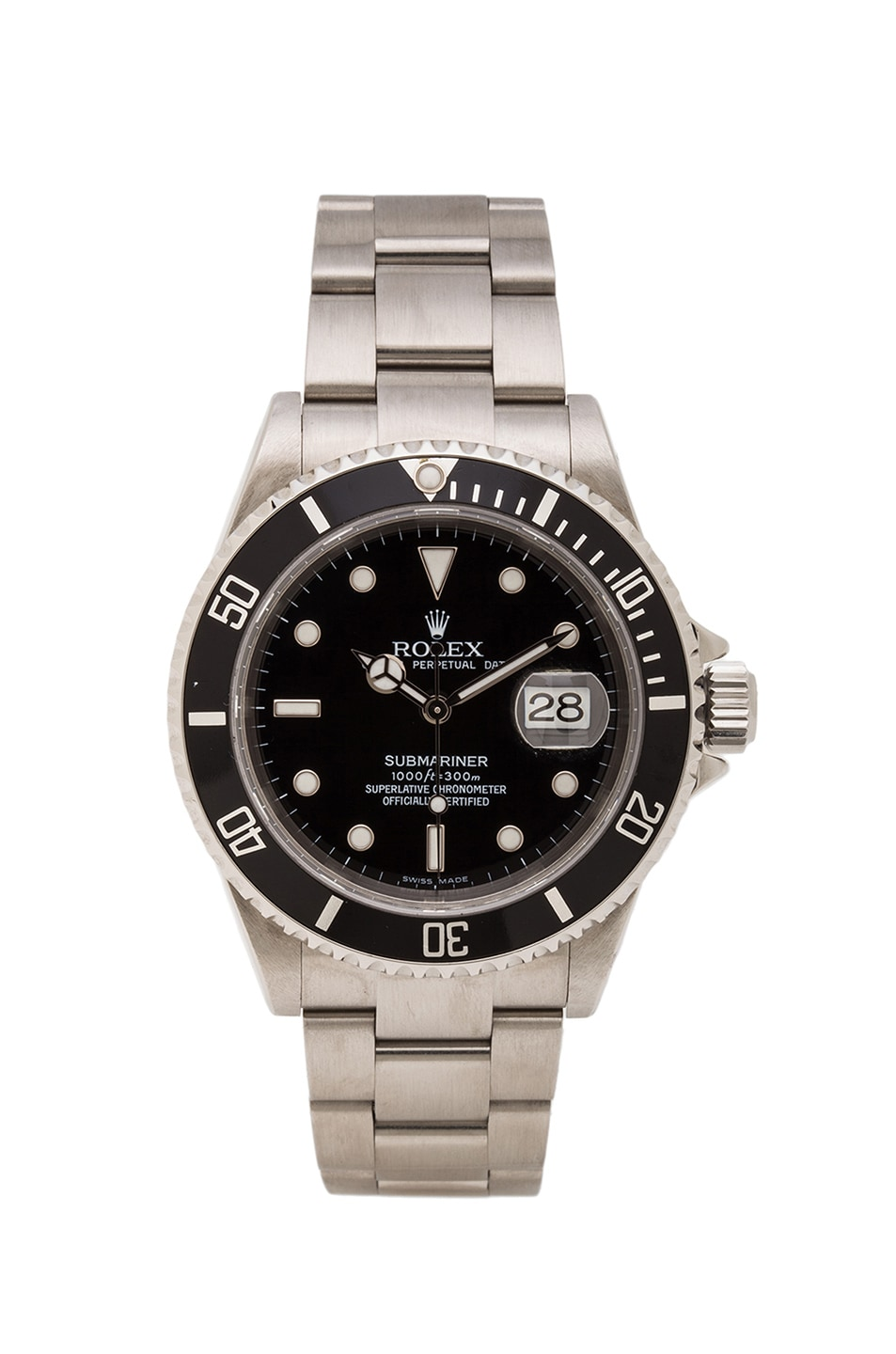Image 1 of Vintage Rolex Stainless Submariner Black Dial in Silver