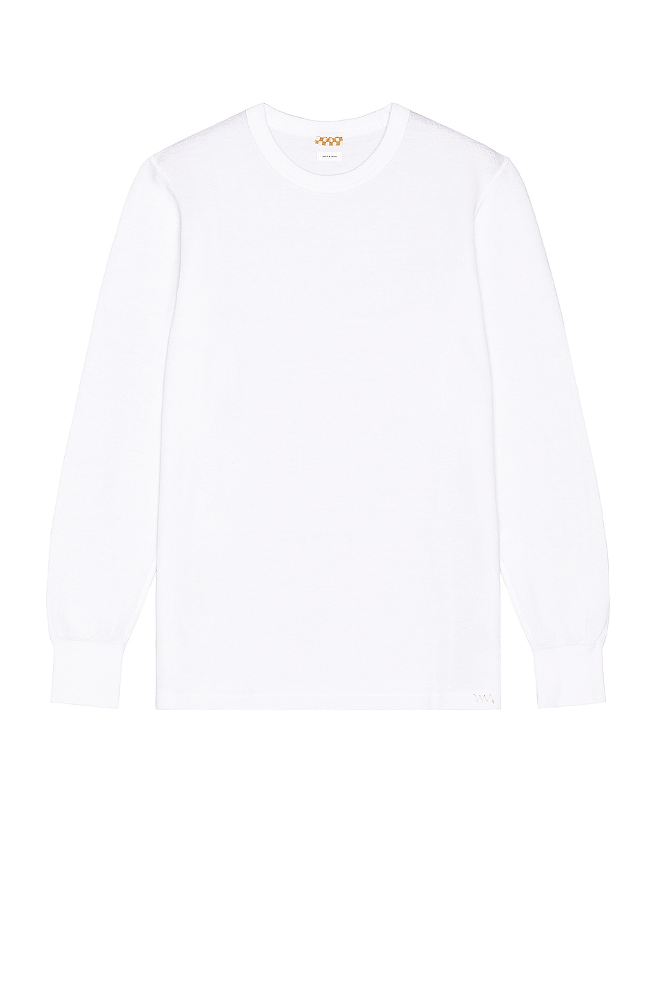 Image 1 of Visvim Sublig Ribs Long Sleeve Crewneck in White