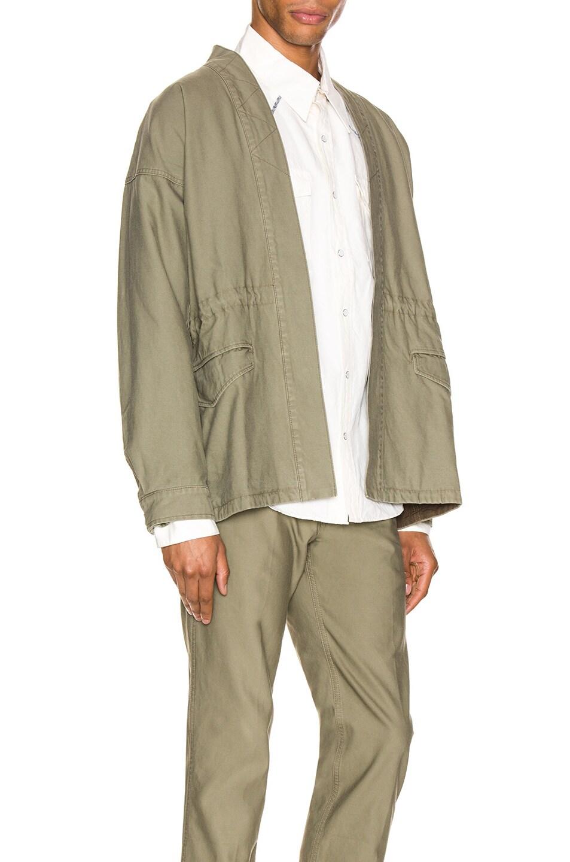 Image 3 of Visvim Sanjuro Benny Jacket in Olive