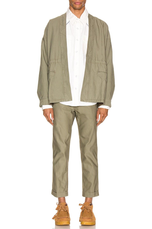 Image 5 of Visvim Sanjuro Benny Jacket in Olive