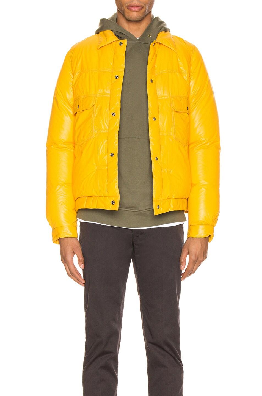 Image 1 of Visvim 101 Down Jacket in Yellow