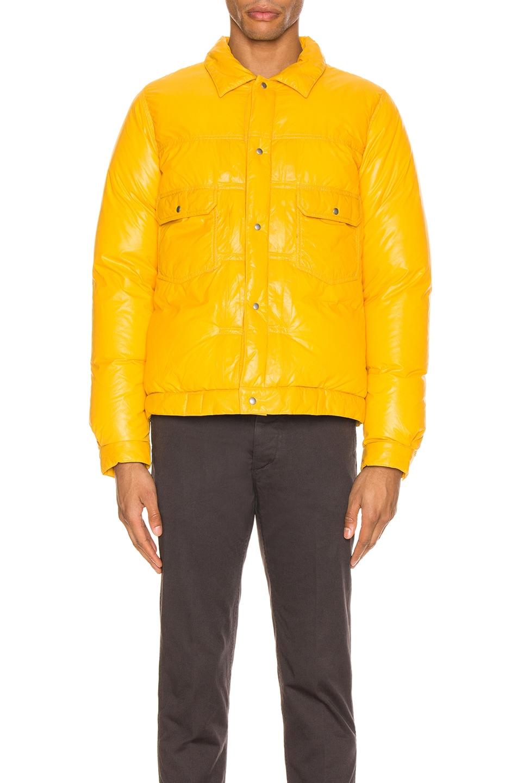Image 2 of Visvim 101 Down Jacket in Yellow