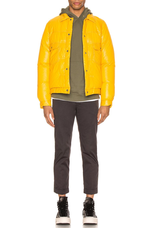 Image 5 of Visvim 101 Down Jacket in Yellow