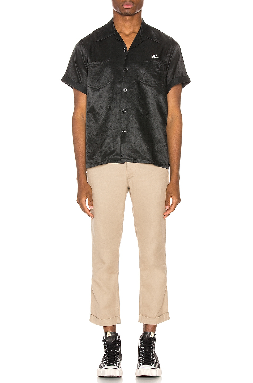 Image 5 of Visvim Irving Shirt in Black