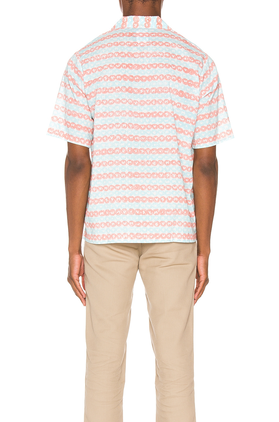 Image 3 of Visvim Ellery Haveli Shirt in Pink Pattern