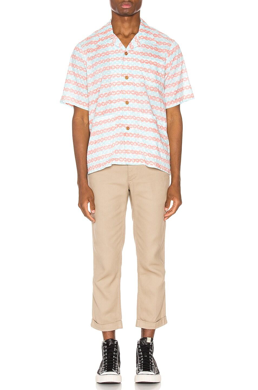 Image 4 of Visvim Ellery Haveli Shirt in Pink Pattern