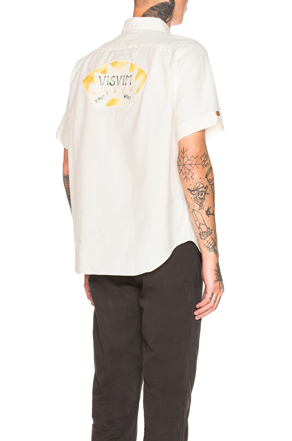 Image 1 of Visvim Ellas Lightening Shirt in White