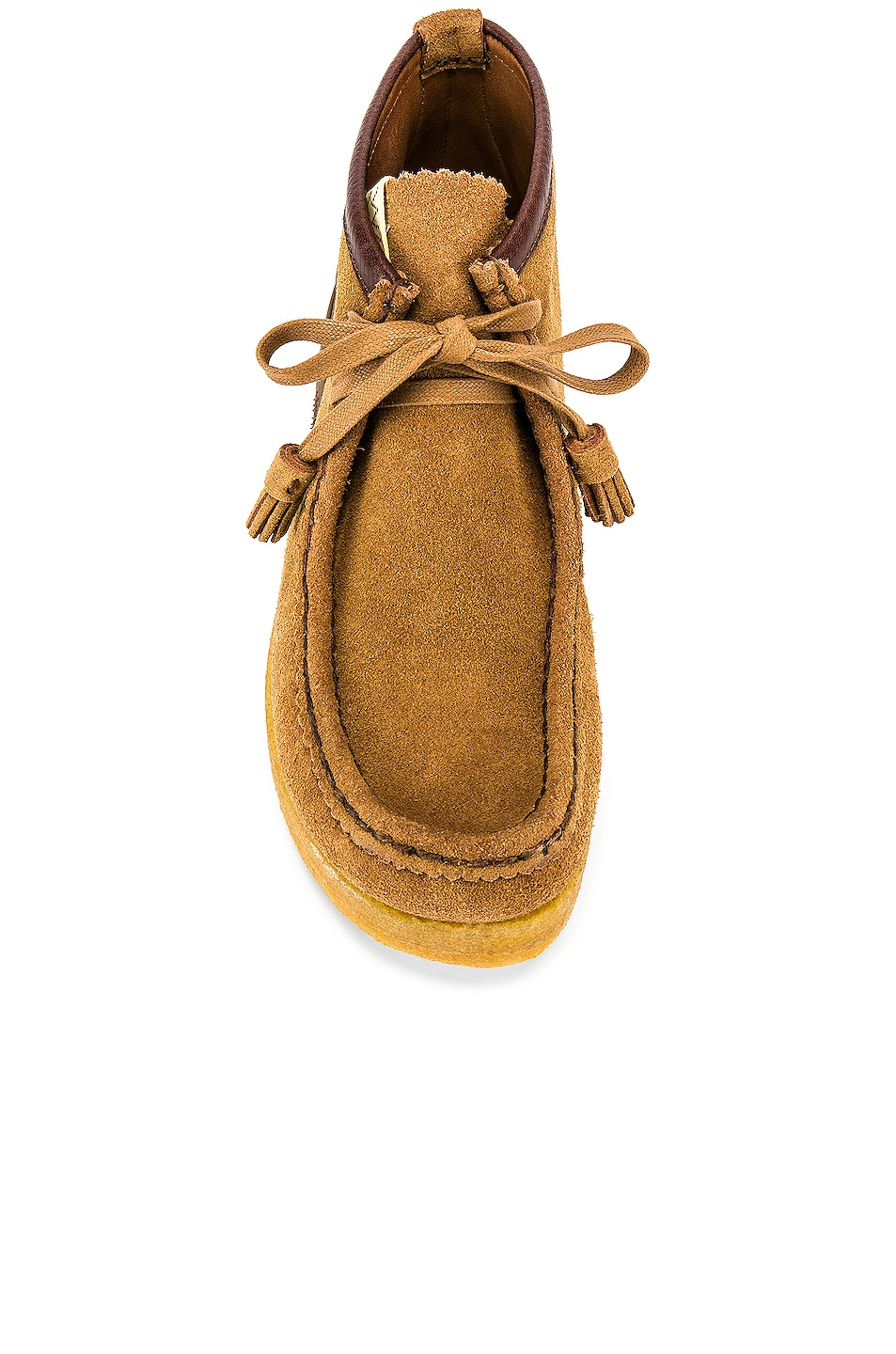 Image 4 of Visvim Sneaker Ankle Moccasin in Camel