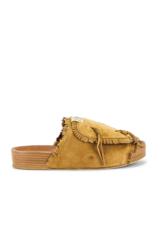 Image 1 of Visvim Christo Sandal in Light Brown