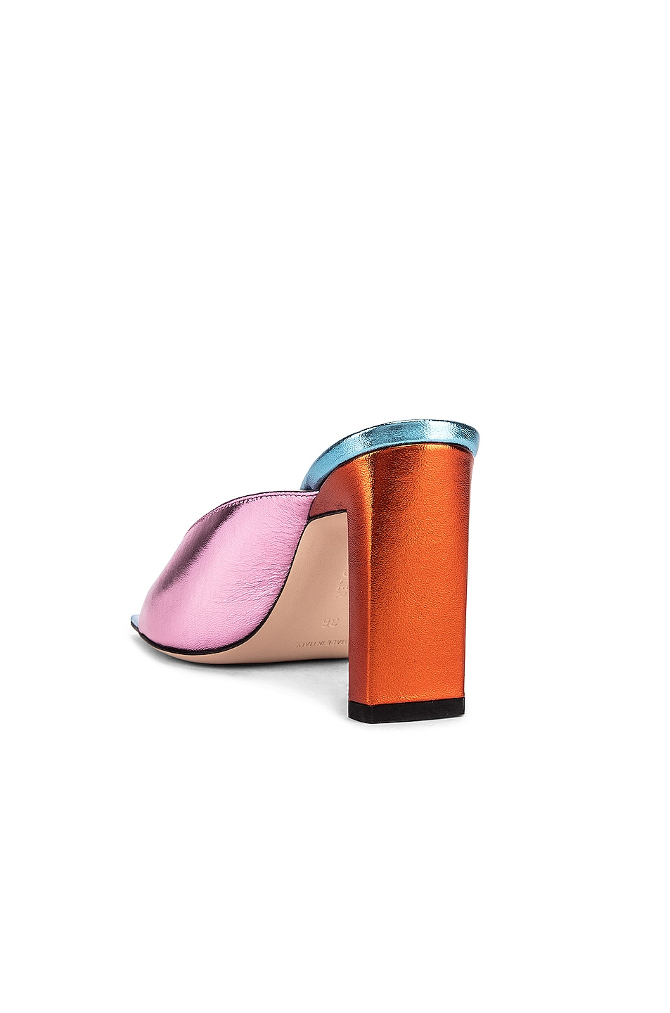 Image 3 of Wandler Isa Sandals in Sunset Mix