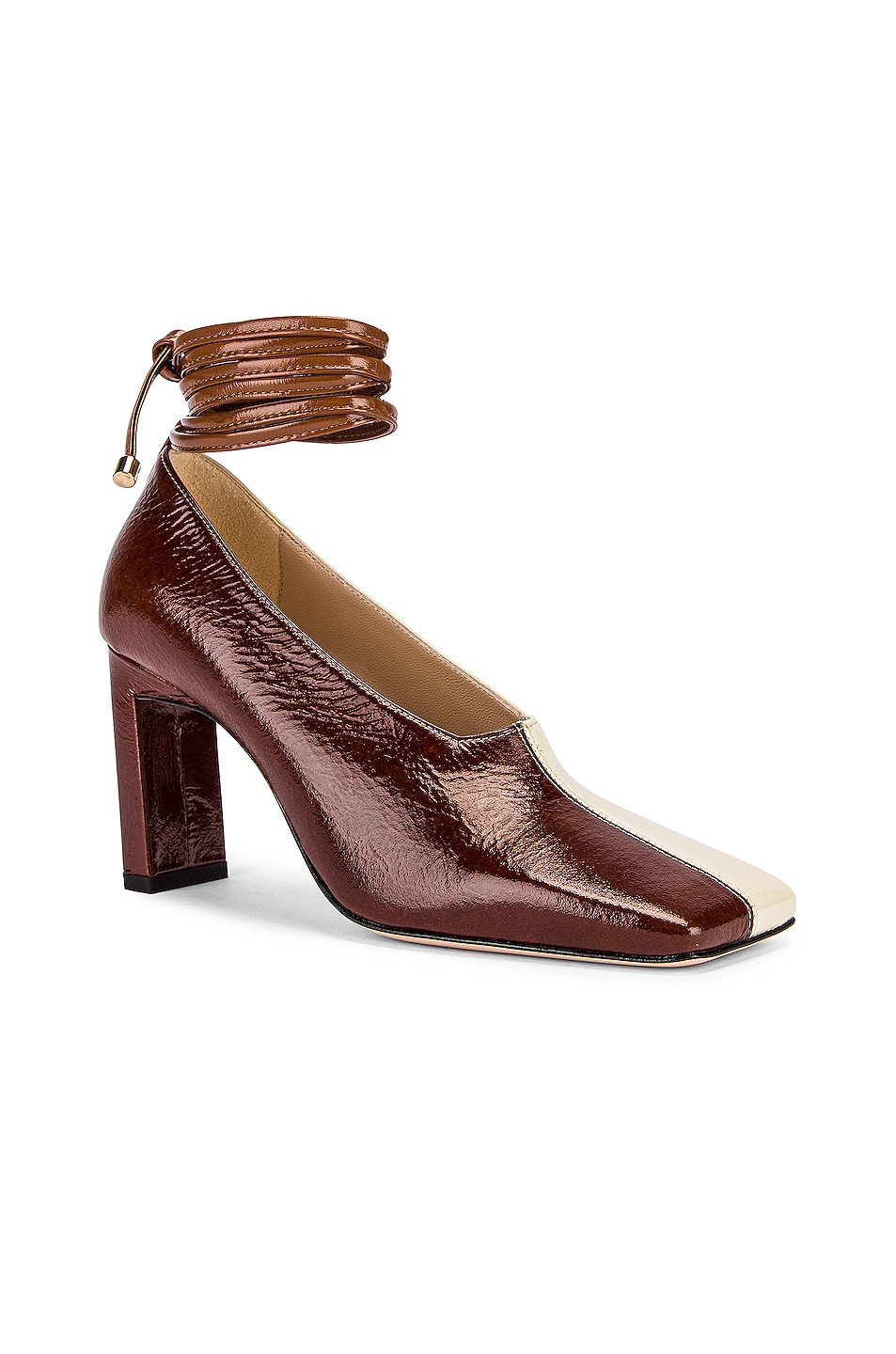 Image 3 of Wandler Isa Mules in Tan Shades