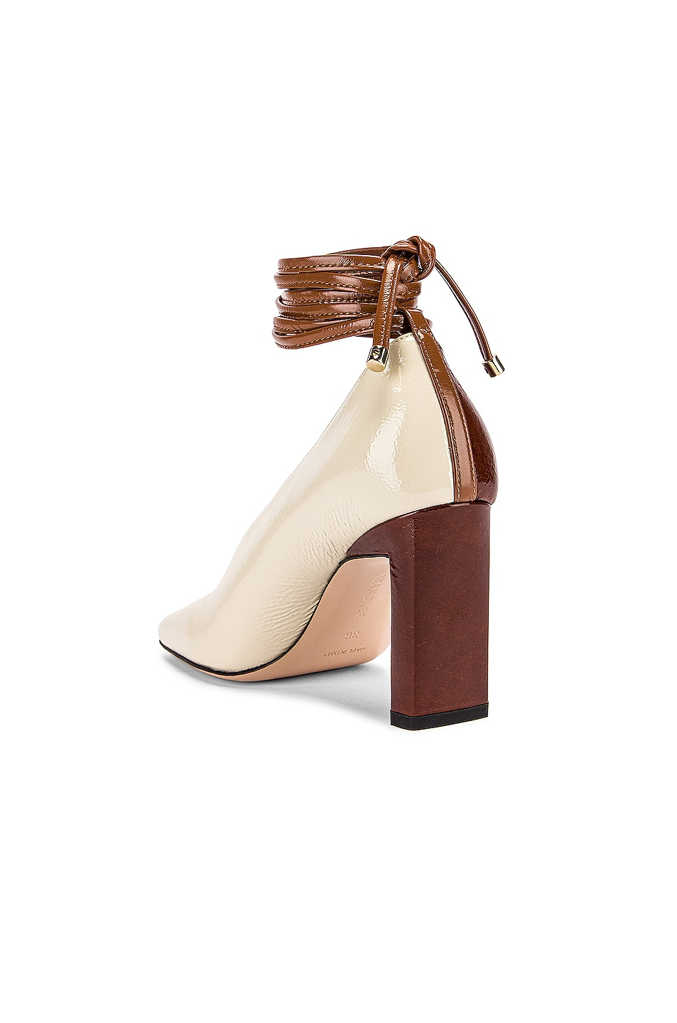Image 4 of Wandler Isa Mules in Tan Shades