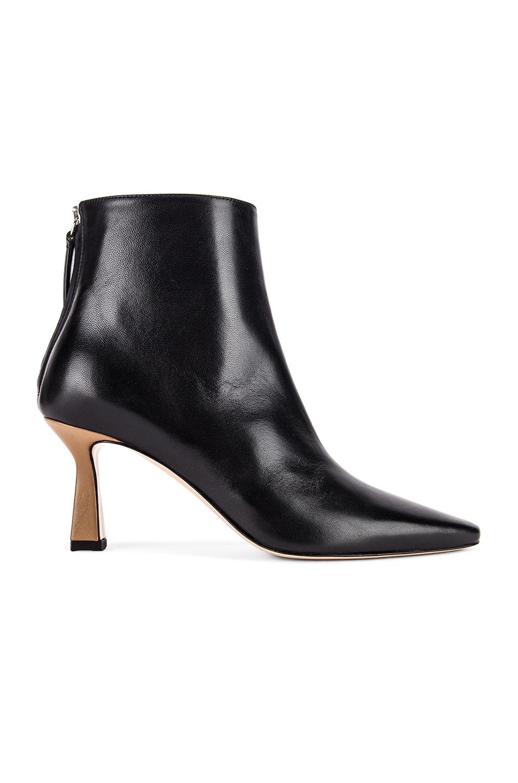 Image 1 of Wandler Lina Boots in Black & Khaki