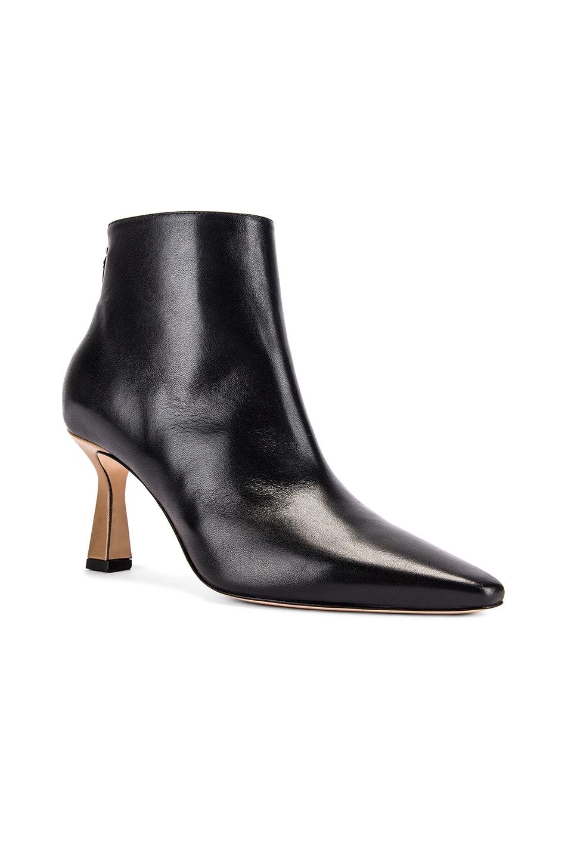 Image 2 of Wandler Lina Boots in Black & Khaki