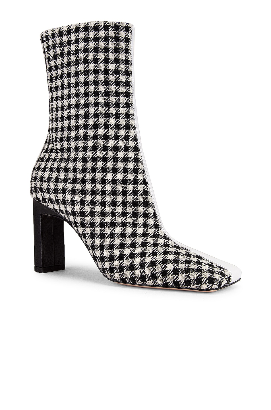 Image 3 of Wandler Isa Boot in Houndstooth