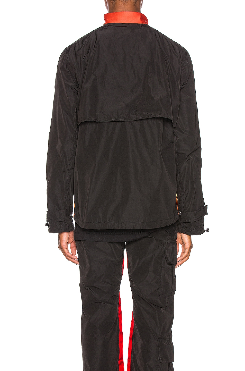 Image 6 of Wales Bonner Patchwork Anorak Jacket in Black & Multi