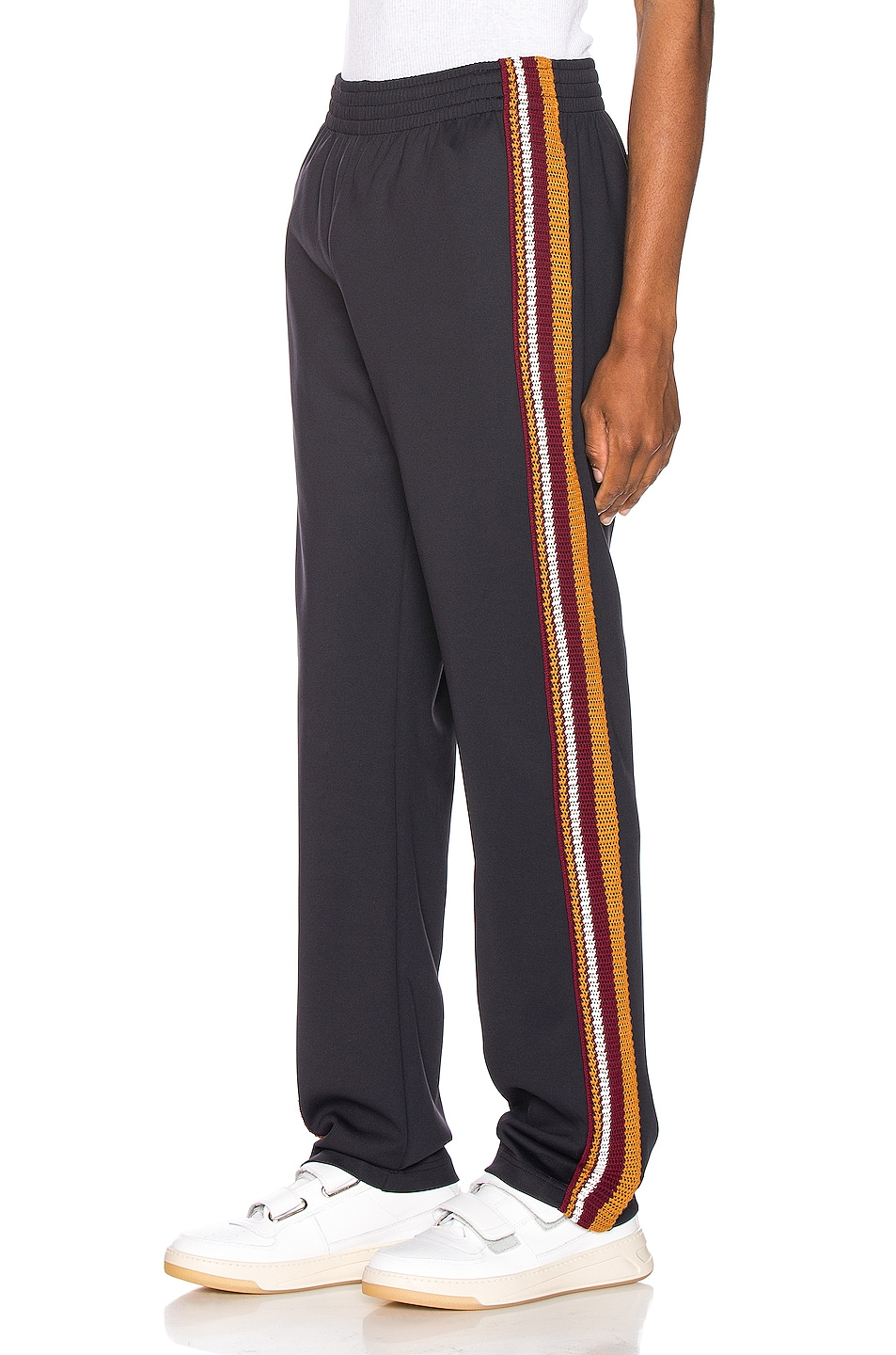 Wales Bonner Crochet Stripe Trackpants