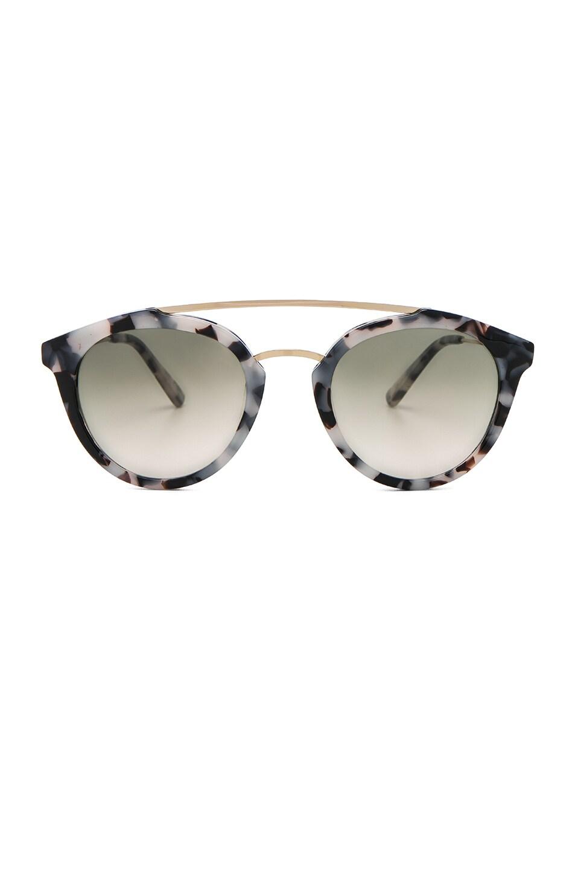 Image 1 of WESTWARD LEANING Double Bridge 1 Sunglasses in Snow Leopard