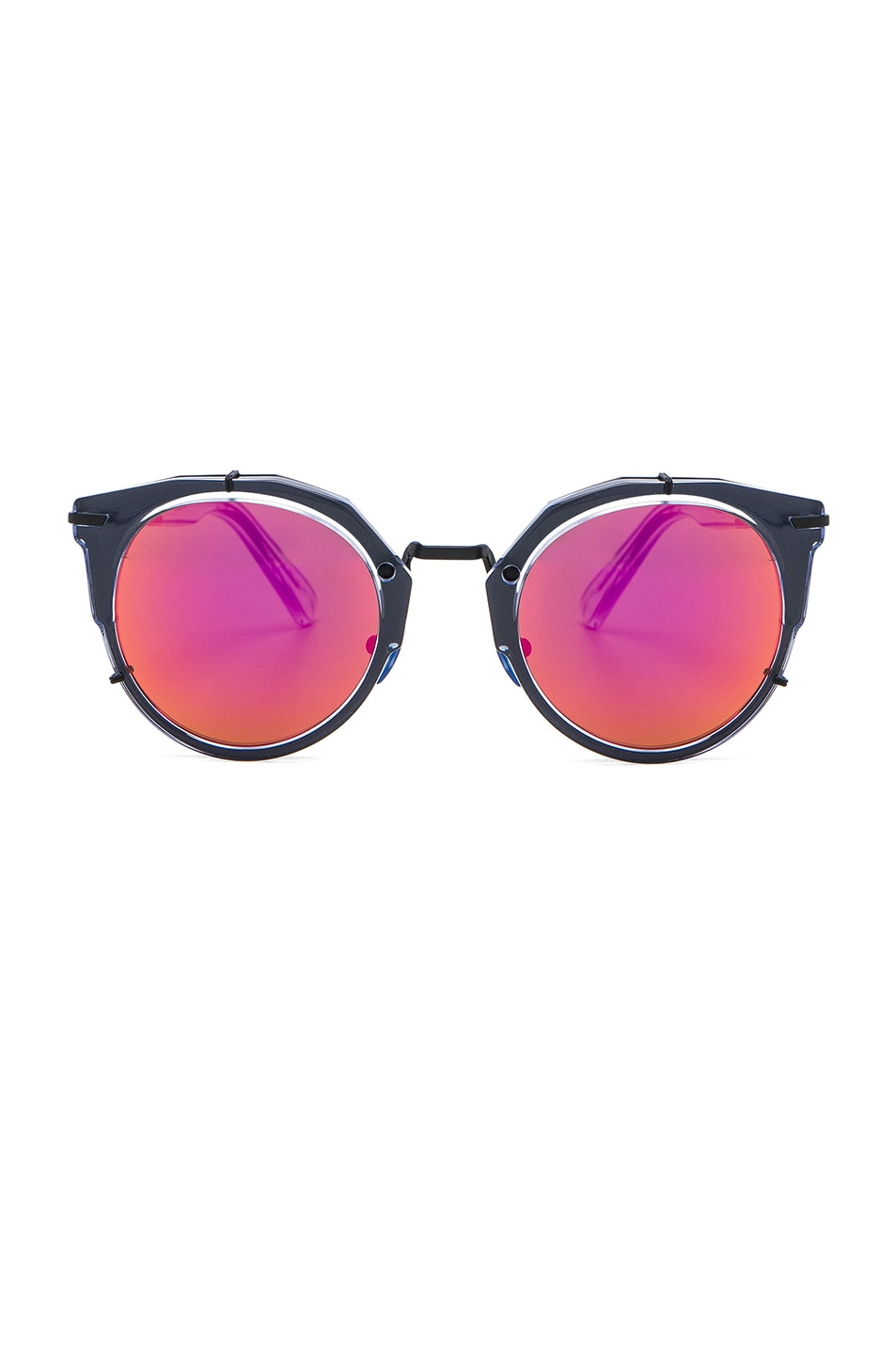 Image 1 of WESTWARD LEANING Sphinx 3 Sunglasses in Blue Ice & Pink