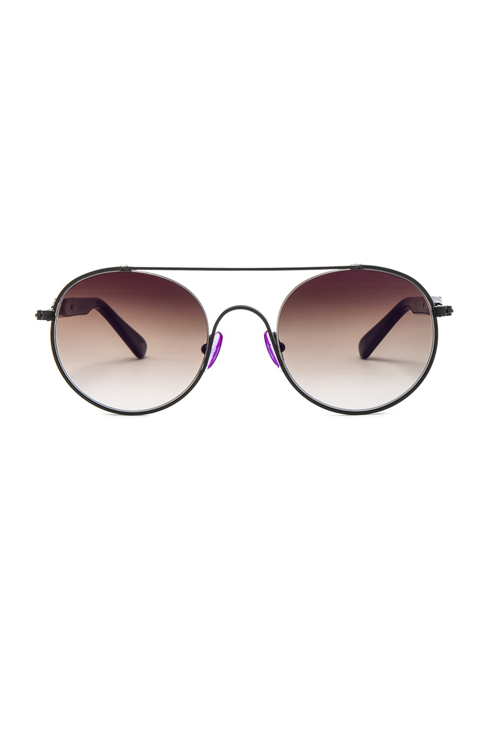 Image 1 of WESTWARD LEANING Cellophane Disco 1 Sunglasses in Black