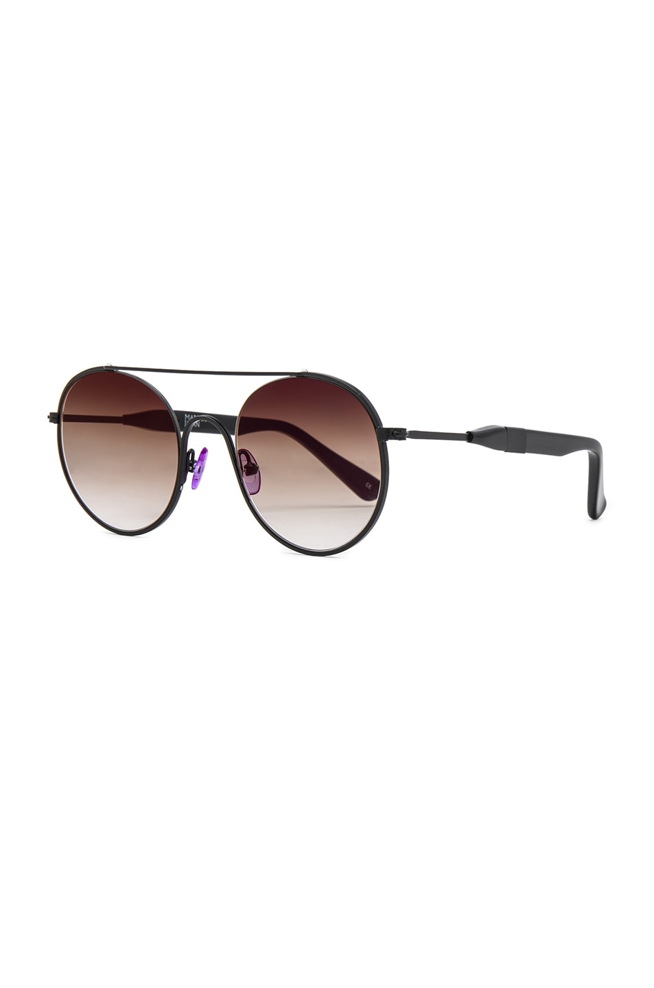 Image 2 of WESTWARD LEANING Cellophane Disco 1 Sunglasses in Black
