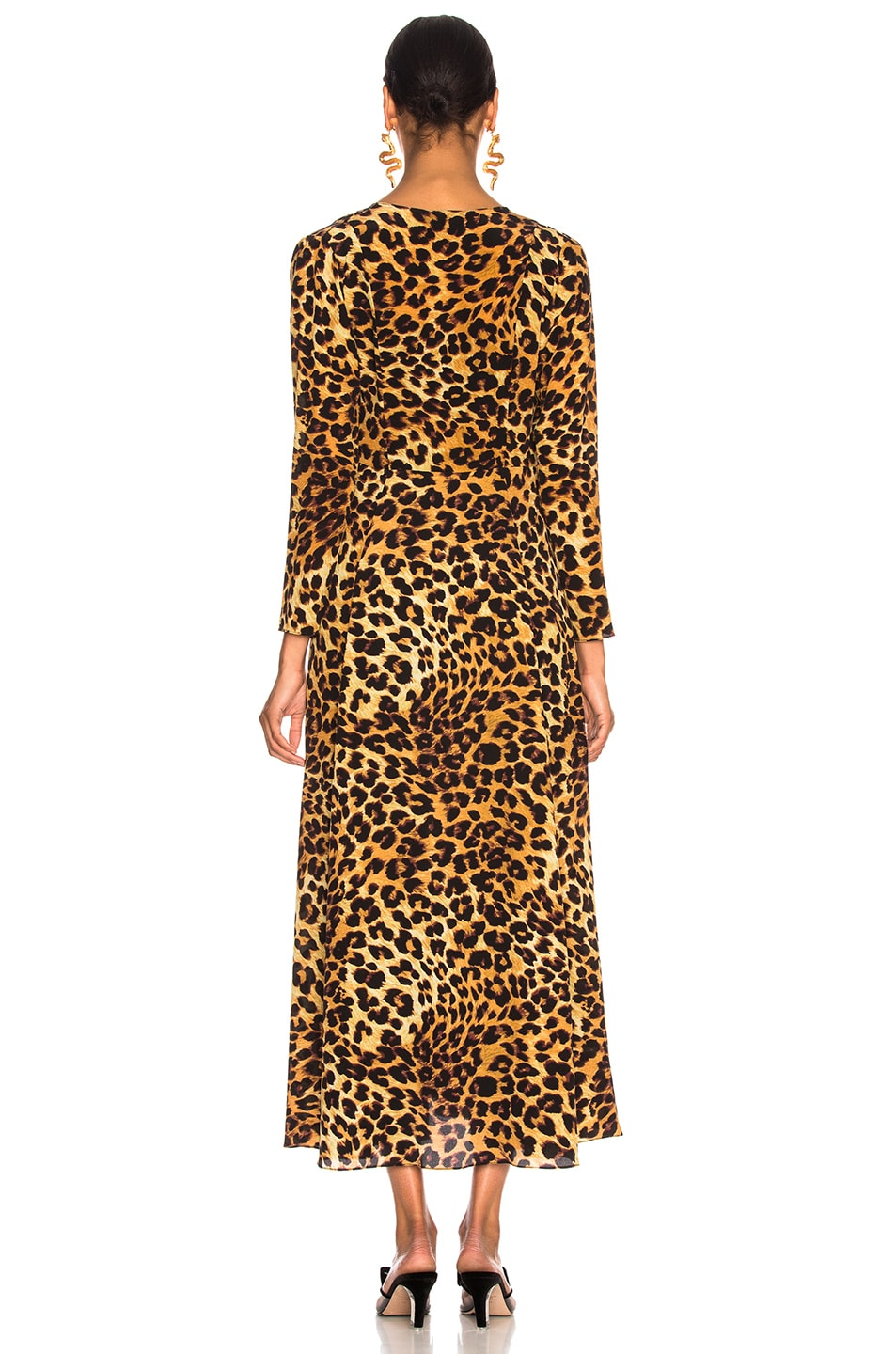 Image 3 of we are LEONE Maxi Cardigan in Leopard