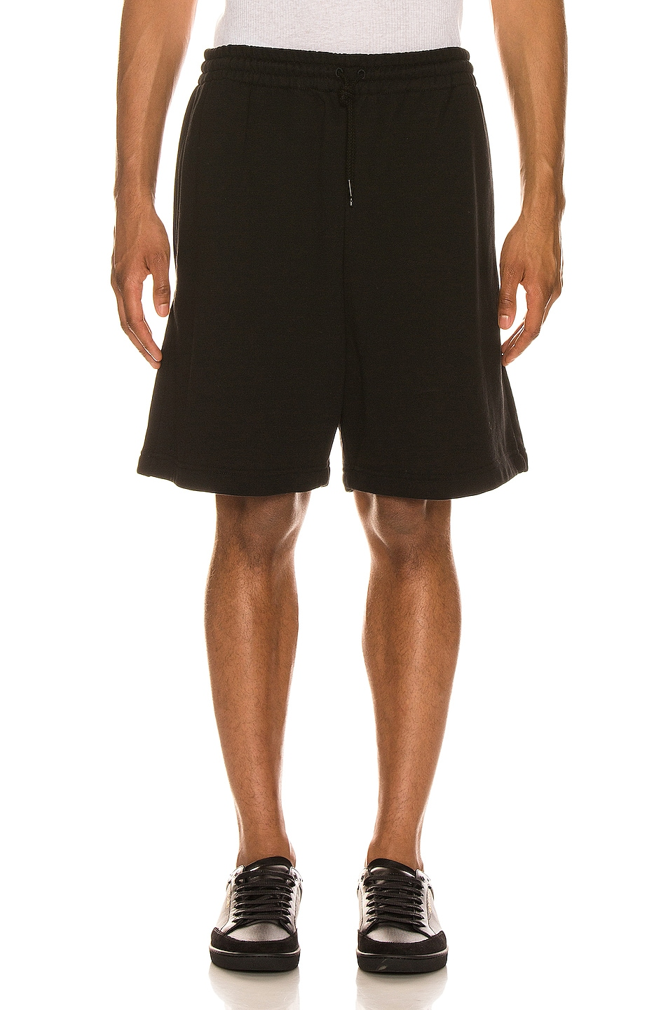 Image 1 of WARDROBE.NYC Track Short in Black
