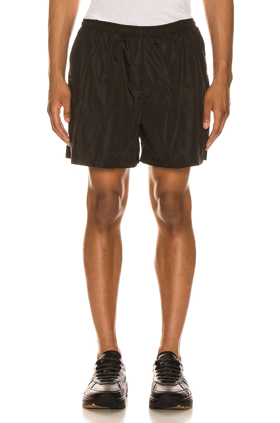 Image 1 of WARDROBE.NYC Running Short in Black