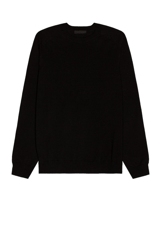 Image 1 of WARDROBE.NYC Sweater in Black