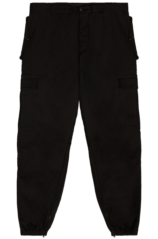 Image 1 of WARDROBE.NYC Cargo Pant in Black